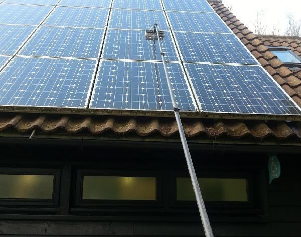 Pure Flow H2O Solar Panel Cleaning
